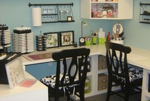 Craft Work Spaces  / by Bridgett Jones