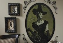 Spooky Letters Signs / by Bridgett Jones