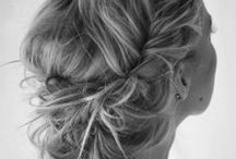 Wedding Hair - Inspiration  / Wedding hair styles that inspire me.  / by Irene and Ozzie
