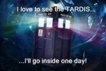 I love to see the TARDIS! / So much DOCTOR - needs his own board! / by Renee Linford