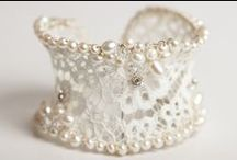 Our Bridal Bracelets/ Cuffs  / by Irene and Ozzie