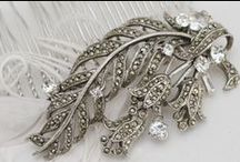 Our Bridal Combs  / Designs by Irene and Ozzie  / by Irene and Ozzie