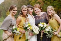 Bridesmaids - inspiration  / by Irene and Ozzie