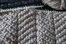 Knitting: stitches / by Amber Hardman