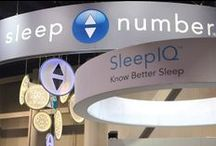 Sleep Number at #CES2014 / Follow along to learn about our new product launch at the 2014 Consumer Electronics Show #CES2014, in Las Vegas. The Sleep Number x12 bed is a CES Innovations Awards Honoree in the Home Appliances and Health & Fitness categories. / by Sleep Number