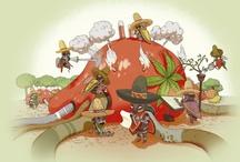 ilustradores del mundo / by Adriana Monterrubio