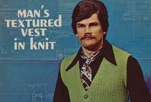 1970s menswear / Men's fashion of yesteryear, the good, the bad and the downright outrageous! I find these images strangely inspiring! Not sure whether it's humour, fashion or design??? / by Creative Bee