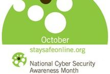 NCSAM 2014 / National Cyber Security Awareness Month / by RIT InformationSecurity