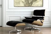 Eames Lounge Chair / I love the Eames Lounge Chair. Love it. After looking at this board, you will too. / by Cory O'Brien