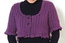 crochet cardigans, jackets, and boleros / My crochet boards are created for my personal enjoyment and inspiration. Please feel free to pin as many as you wish. I hope you find some of these pins as useful, inspirational and cool as I do! Enjoy. IMPORTANT NOTE: Double check all Caron Yarn patterns as older ones are written for 7oz skeins and current skeins are only 6oz.  / by Lavonne Lesley