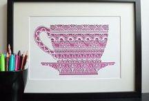 Papercut Inspiration / by Melissa Bunker