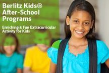 Kids & Teens Programs  / Childhood is the easiest time to learn a foreign language. They naturally immerse themselves in the new language. The earlier children start to learn, the more likely they are to speak without an accent. With Berlitz, kids and teens can have fun, too. / by Berlitz US - Language Learning