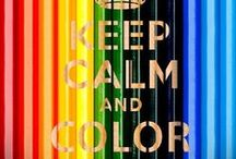 Color ♡ / Color the world... / by Marije Vermeulen-Hes