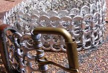art of Tabistry / everything made from soda tabs !! / by Melissa Harvey