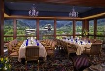 Penrose Room Restaurant / Colorado's only Five Star, Five Diamond restaurant with amazing views of the Colorado Rockies. Classic French cuisine with an inspired twist. Truly a one-of-a-kind dining experience. Colorado Springs, CO / by The Broadmoor