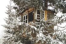 Tree houses & gypsy caravans / by Susan James