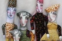 Softies Beatifull / Muñecos y muñecas de varias partes del mundo. Cada uno tiene una magia especial, son maravillosos. / by Paola Flórez