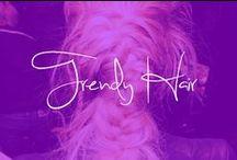 TRENDY HAIR / Unicorn ponytails all around! / by Katelyn Z