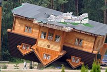 Amazing Dwellings. / by Sheila Thornton