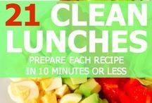 Healthy Lunches / by Ashly Garibaldi