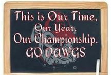 GO DAWGS~♥♥~~♥♥~ / THE GREATEST COLLEGE TEAM EVER; THE GEORGIA BULLDOGS!!  ♥  SIC EM, WOOF WOOF WOOF!!!  DEDICATED TO MY DAD, HJ FOWLER- HE LOVED THE DAWGS!! / by Deborah Fowler-Kyle