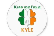 K is for KYLE / MY LAST NAME! / by Deborah Fowler-Kyle