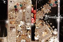 BLING MY IPHONE** / Blinged out IPhone cases / by Ramona Mangala