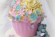 "°""GIANT""cup""CAKE""~FOOD~19 / Giant cupCAKE / by Ramona Mangala"