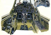 Fighter Aircraft Cockpit / by Michael Luzzi
