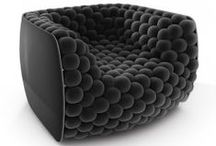 FURNITURE DESIGN / Old and new furniture designs that habe changed the concept of living space. / by JD Smith