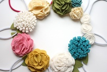 Flowers & Bows for Baby Girls / by Ashley Webster