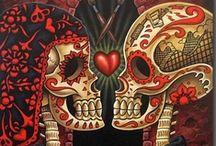 Dia De Los Muertos / Day of the Dead ♥ Nov. 2 ♥ My Wedding Day ♥ Anniversaries  / by Autumn Fae