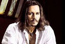 Johnny Depp / Sure he's handsome, but my hubby, now that's really handsome! / by Autumn Fae