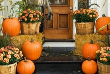 Audacious Autumnal Adornments / Autumn is such a vibrant season with bold colors found in the natural kingdom and bold scents and tastes abiding in the kitchen.  I love this season. / by Phill Burnett