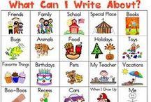 Writer's Workshop / Ideas for writer's workshop in kindergarten and ideas for my writer's workshop PLC. / by Adrianne Horn