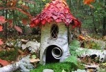 Enchanted fairy houses  / by Al N Chris Schnoor