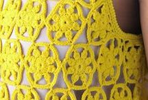 Crochet: amarillo (I parte) / by Beatriz Villordo
