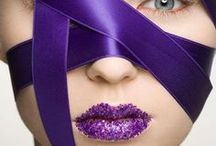 PURPLE People Eater / PURPLE - dark purples-amethyst, plum, aubergine (eggplant) / by Daryle Massen