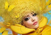 Mellow YELLOW / Smooth Golden Yellows - marigold, mustard, the darker tones / by Daryle Massen