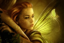 Faeries of the world #1 / Faeries here include fairies, pixies, sprites,  brownies and such. / by Kerith Reid