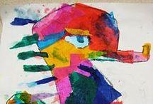 Eric Carle Theme- Weekly Home Preschool / by Ellen @ Cutting Tiny Bites