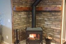 Fireplaces / by Michelle KosterMK