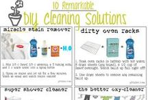 Cleaning & Laundry Tips / Tips and recipies for cleaning around the house! / by Christy Grimes