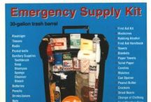 1st Aid & Emergency Prepared / Tips and Tools to be ready/prepared for any 1st Aid or Emergency Situations. / by Christy Grimes
