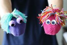 Puppets & Storytelling / Puppets are a fun way to tell a story. Here are some other storytelling ideas for toddlers and preschoolers. / by Emma @ P is for Preschooler