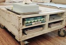 Pallet Creations / Ideas & Tips for using recycled pallets into projects i would actually like to do & have around. / by Christy Grimes