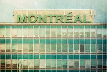 Montreal, Quebec / All about the city I'd like to live: landscapes, cafés, streets and of course, snow / by Jorge Granados