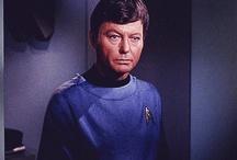 "Dr. Leonard ""Bones"" McCoy: Past and Present / by Nikki Hammer"