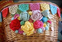 ◄Crochet bags & boxes / Bags, baskets, boxes... / by Pandora