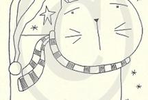Dibujos 1/Drawings 1 / by Gato Chirolio !